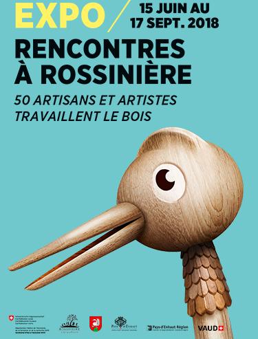 Rencontre à Rossinière Expo du 15 juin au 17 septembre 2018